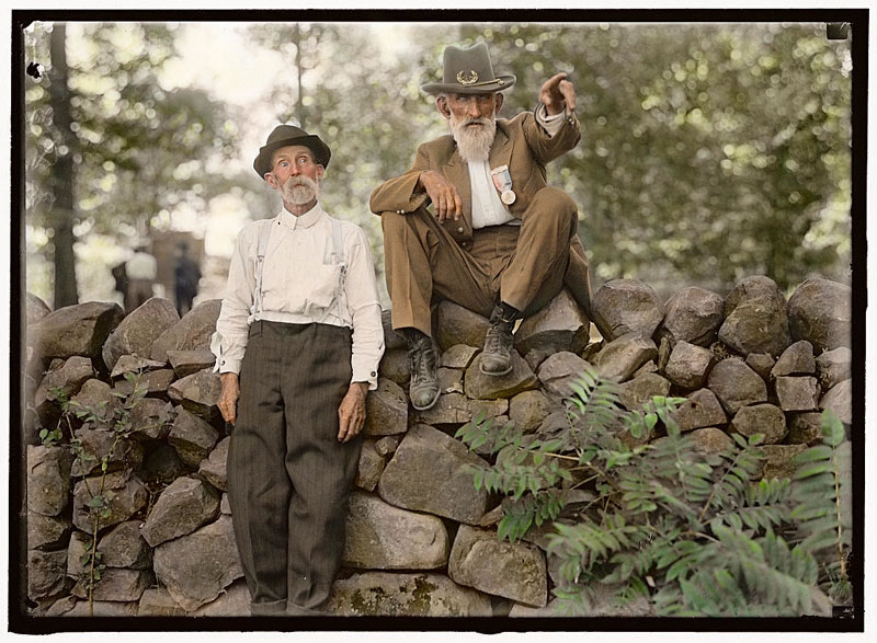 21 Historic Black And White Photos Turned Into Color Photo