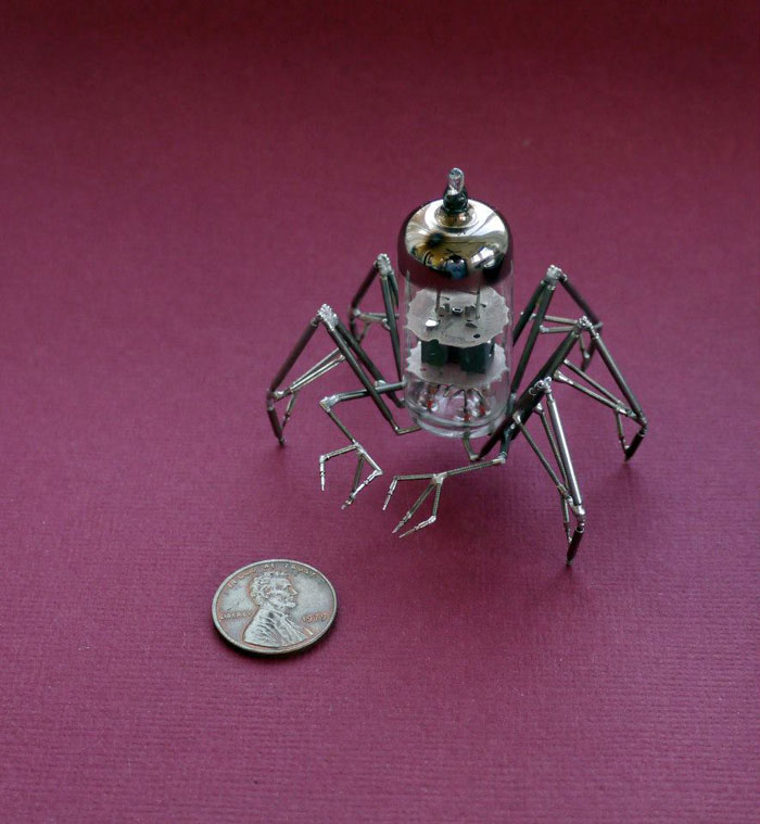 Mechanical Insects Made From Watch Parts (6)