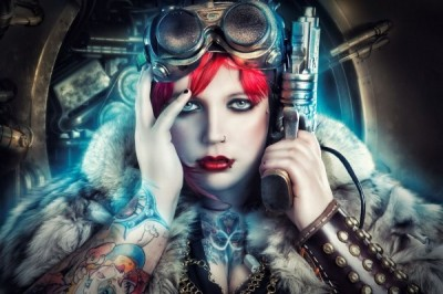 Steampunk Art Gothic Fantasies By Rebecca Shed (1)