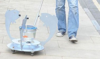 Take Your Pet Fish For A Walk With The Aquatic Pram