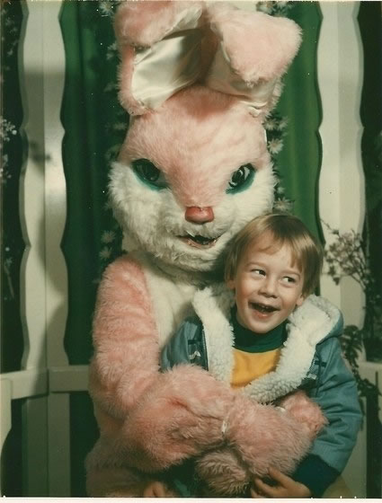 These Scary Easter Bunnies Are More Likely To Make Children Cry 1