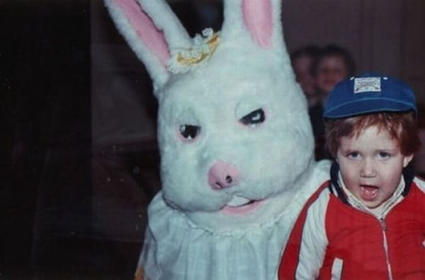 These Scary Easter Bunnies Are More Likely To Make Children Cry 10