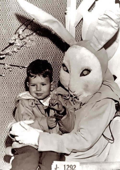 These Scary Easter Bunnies Are More Likely To Make Children Cry 11