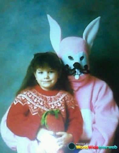 These Scary Easter Bunnies Are More Likely To Make Children Cry 12
