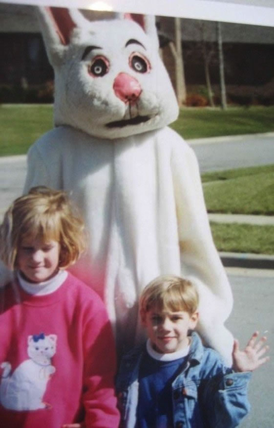 These Scary Easter Bunnies Are More Likely To Make Children Cry 15