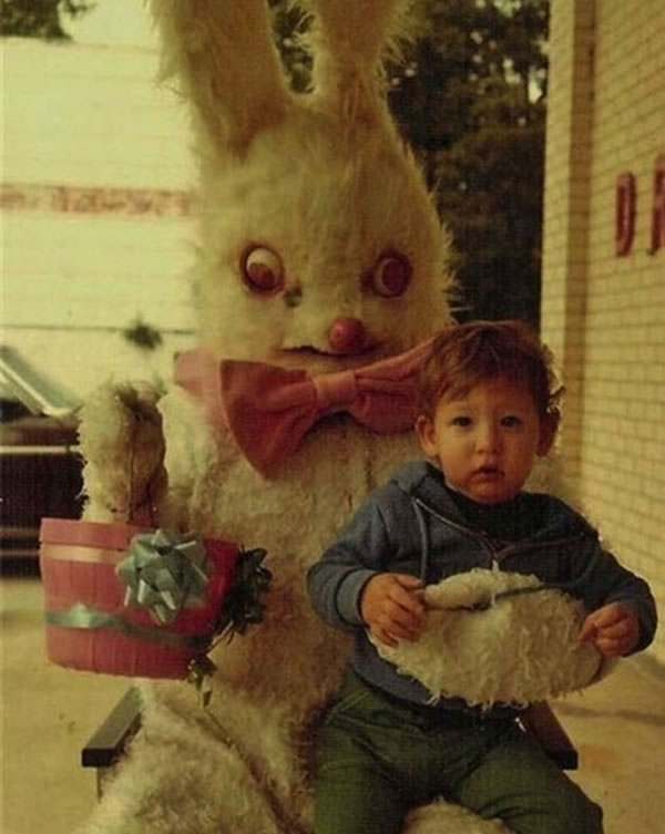 These Scary Easter Bunnies Are More Likely To Make Children Cry 16