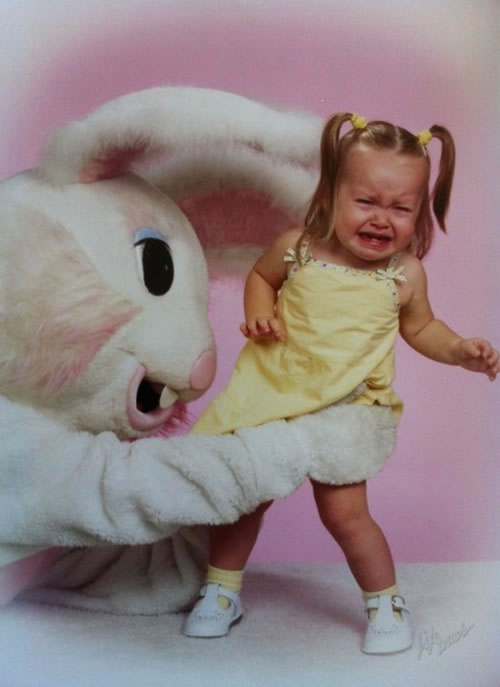 These Scary Easter Bunnies Are More Likely To Make Children Cry 18