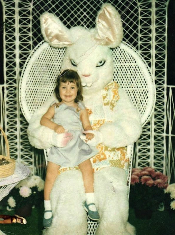 These Scary Easter Bunnies Are More Likely To Make Children Cry 19
