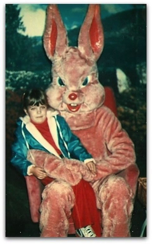 These Scary Easter Bunnies Are More Likely To Make Children Cry 3