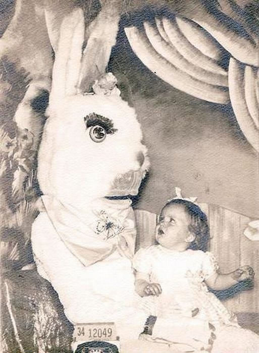 These Scary Easter Bunnies Are More Likely To Make Children Cry 4