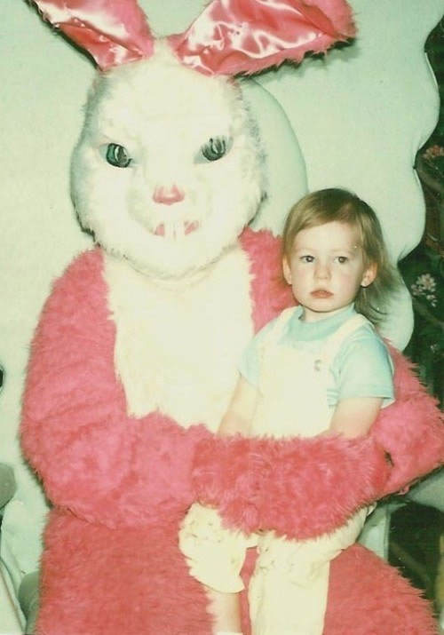 These Scary Easter Bunnies Are More Likely To Make Children Cry 6