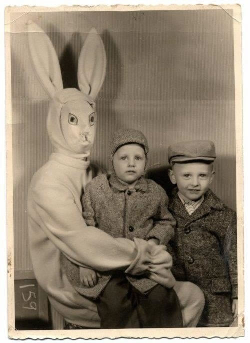 These Scary Easter Bunnies Are More Likely To Make Children Cry 7