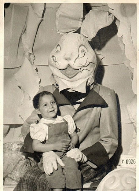 These Scary Easter Bunnies Are More Likely To Make Children Cry 9