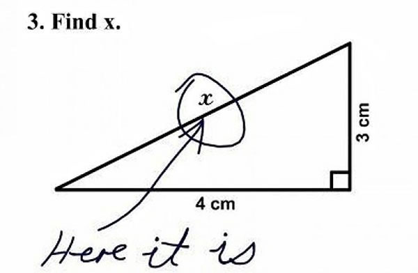 30 Funny Test Answers Written By Clever Kids