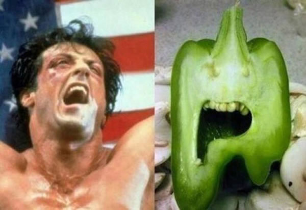 Can You See The Resemblance - Vegetables That Are Shaped Like Something Else 12