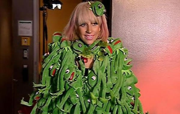 10 Most Outrageous Dresses Worn By Lady Gaga In Public 11