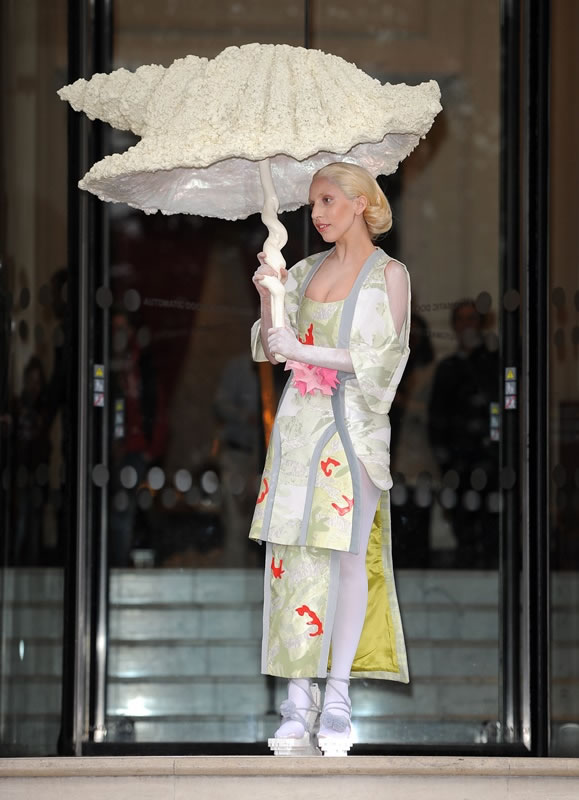 10 Most Outrageous Dresses Worn By Lady Gaga In Public 2