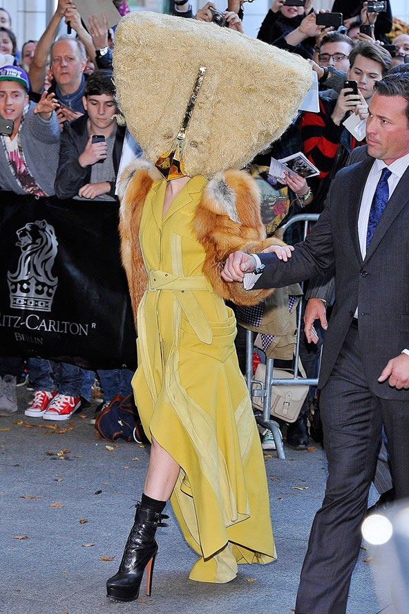 10 Most Outrageous Dresses Worn By Lady Gaga In Public 5