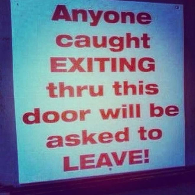 22 Funny Signs That Are Ironically Out Of Place 6