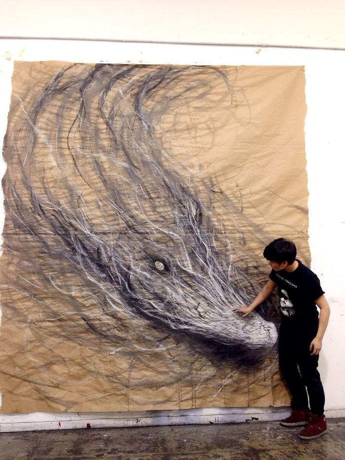 3d Artist Creates Ferocious Life-Sized Beasts (6)