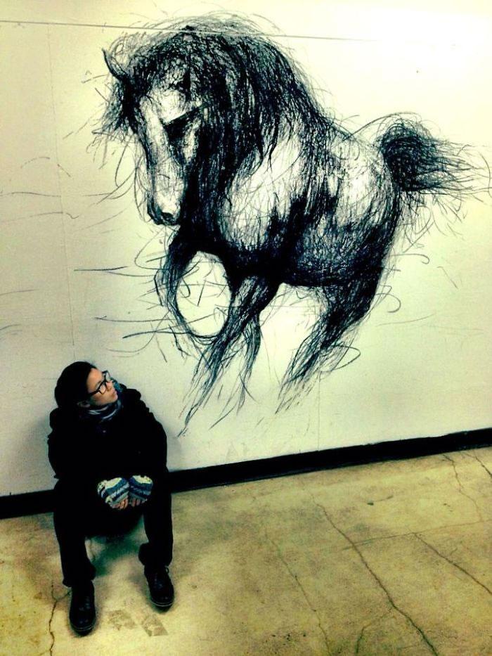3d Artist Creates Ferocious Life-Sized Beasts (7)
