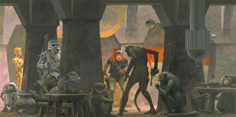 Absolutely Original Concept Star Wars Art Ideas By Ralph McQuarrie 14