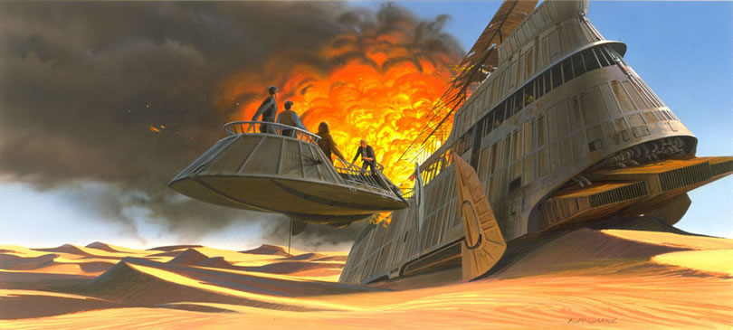 Absolutely Original Concept Star Wars Art Ideas By Ralph McQuarrie 15
