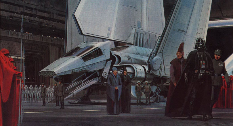 Absolutely Original Concept Star Wars Art Ideas By Ralph McQuarrie 16