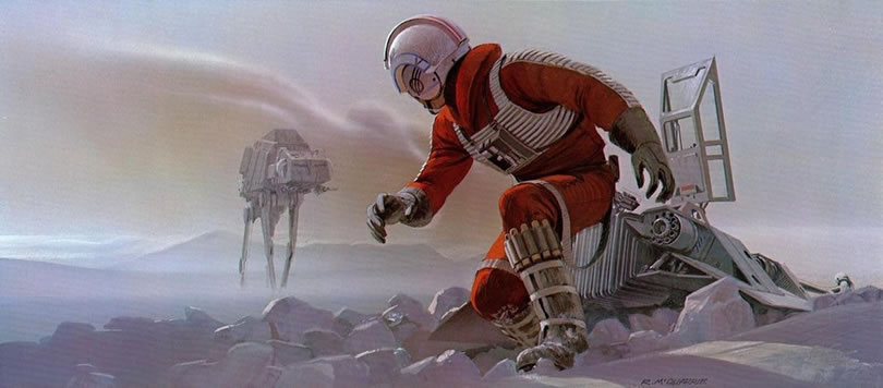 Absolutely Original Concept Star Wars Art Ideas By Ralph McQuarrie 2