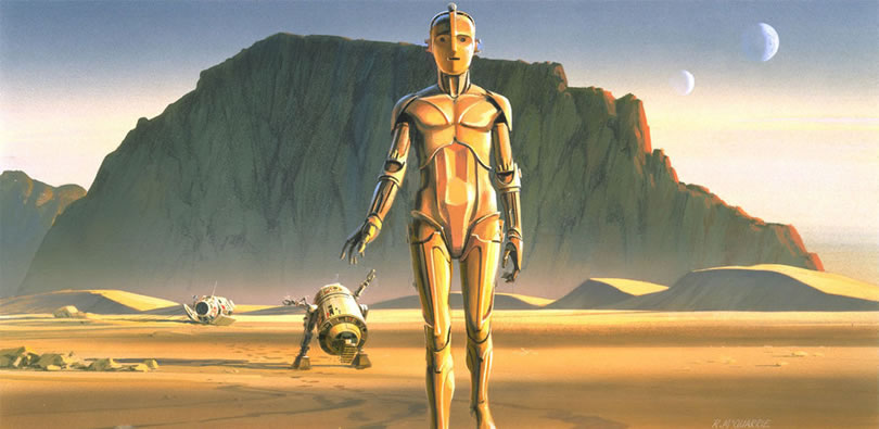 Absolutely Original Concept Star Wars Art Ideas By Ralph McQuarrie 7