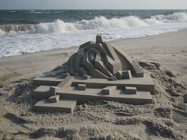 Amazing Sand Castles Turned Into Modern Art 1