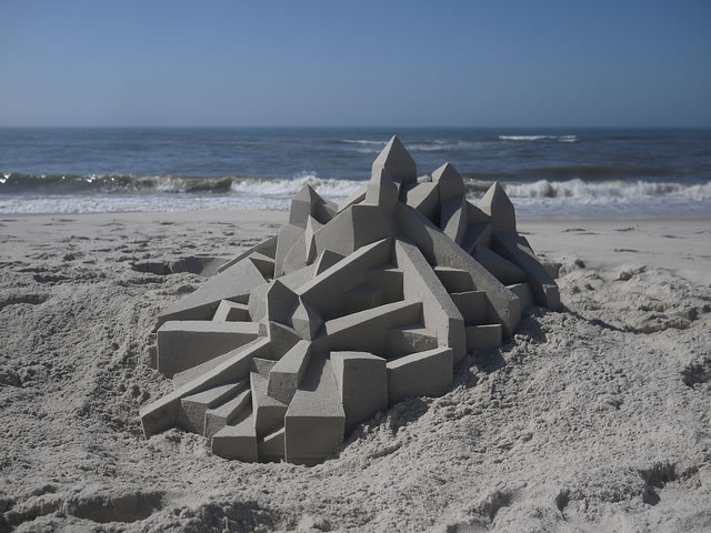 Amazing Sand Castles Turned Int Art 12