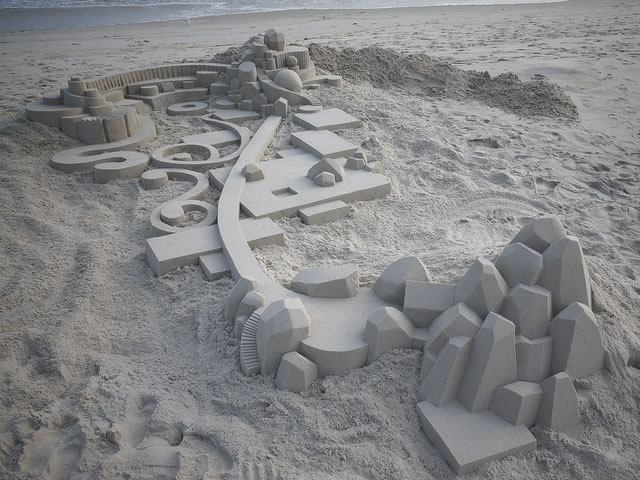 Amazing Sand Castles Turned Into Art 14