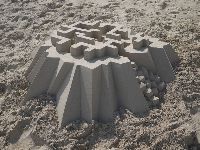 Amazing Sand Castles Turned Into Modern Art 3