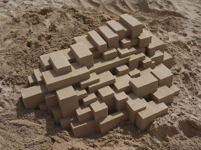 Amazing Sand Castles Turned Into Modern Art 7