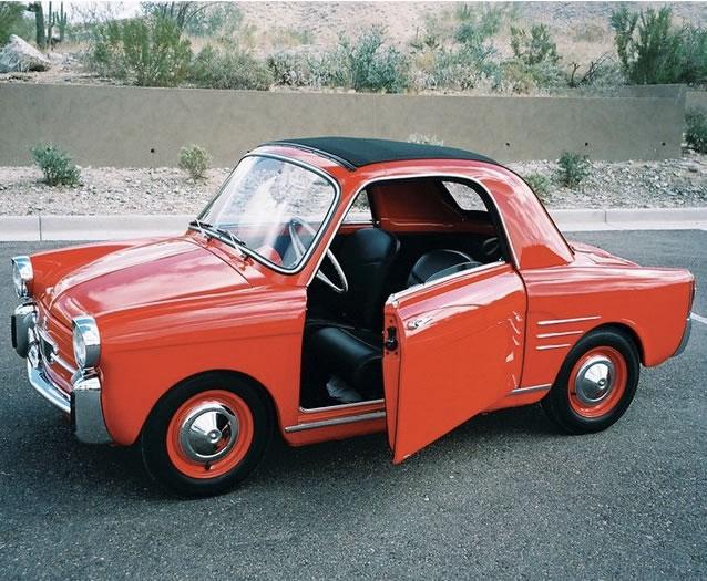 Autobianchi Bianchina 500 - Smallest Cars