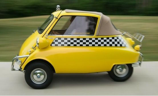 Bmw Isetta Smallest Cars