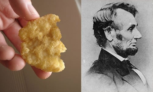 Funny Foods - Chicken Nugget Abe Lincoln