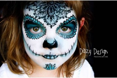 Professional Face Painters Turn Kids Into Little Monsters
