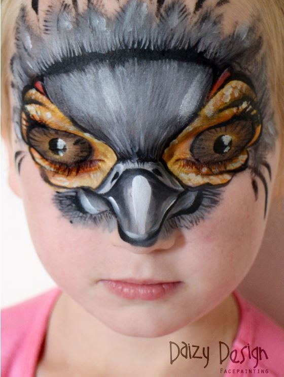 Face-Painters-Turn-Kids-Into-Monsters-11