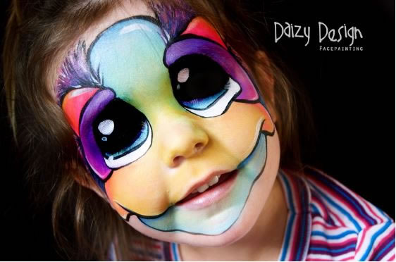 Face-Painters-Turn-Kids-Into-Monsters-2