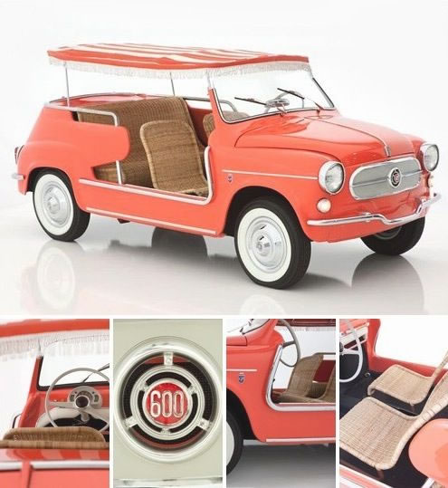 Fiat Jolly - Smallest Cars
