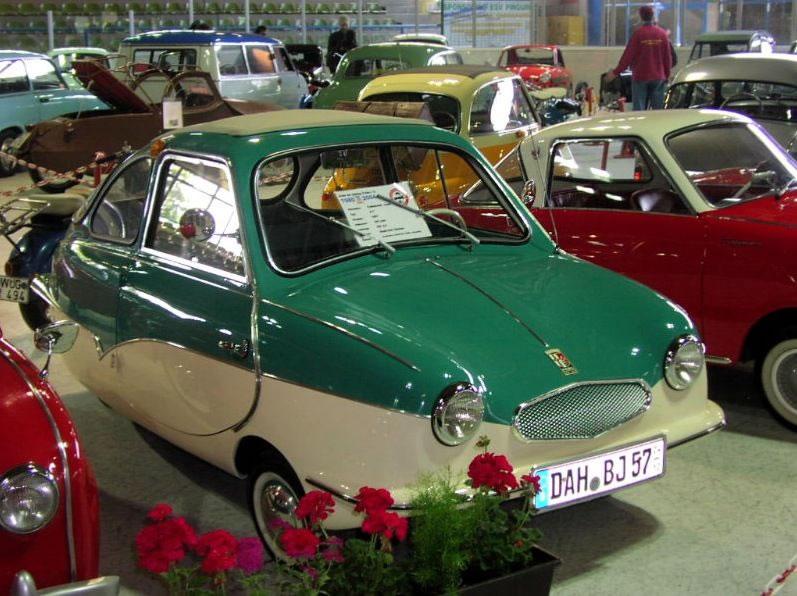 Fuldamobil - Smallest Cars
