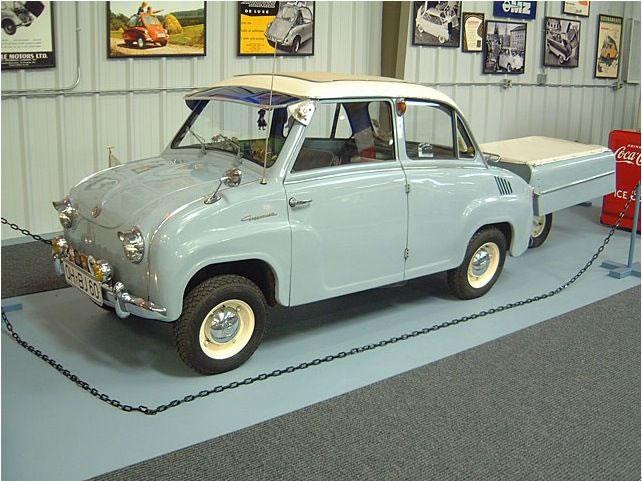 Goggomobil T-300 - Smallest Cars
