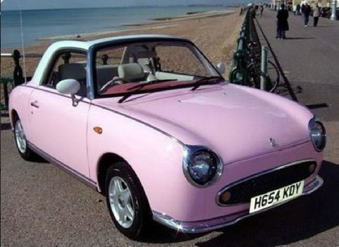Nissan Figaro - Smallest Cars