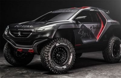 Peugeot Unveil Their Monster Rally Car That Will Take On The Dakar