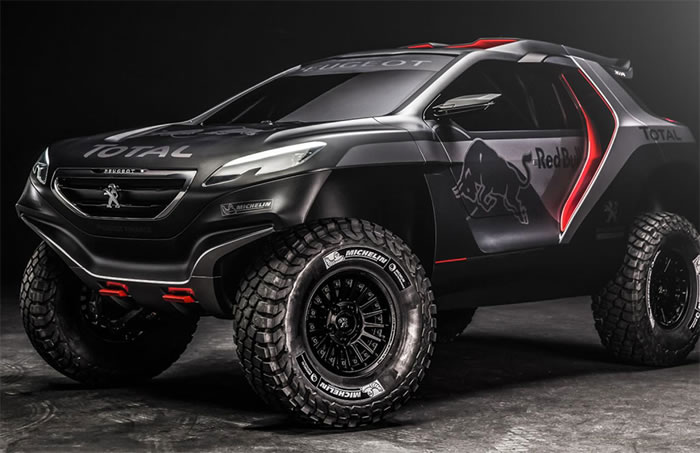 Peugeot Unveil Their Monster Rally Car To Take On The Dakar