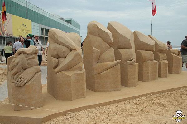 Sand Art Sculptures By Award Winning Sand Sculptor Carl Jara 4