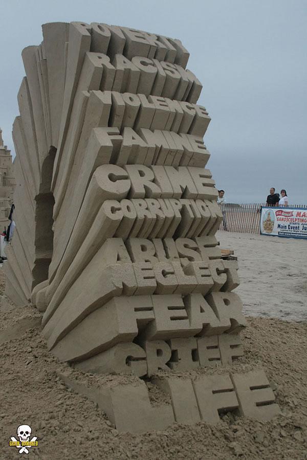 Sand Art Sculptures By Award Winning Sand Sculptor Carl Jara 6