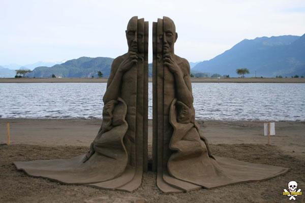 Sand Art Sculptures By Award Winning Sand Sculptor Carl Jara 8